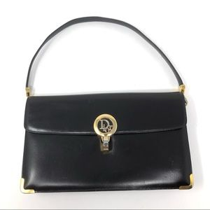 Vintage DIOR Circa 1970s, leather purse, authentic